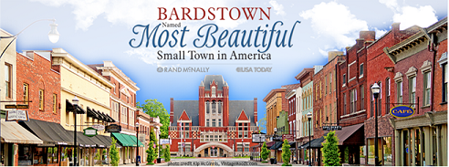Most Beautiful Bardstown Banner
